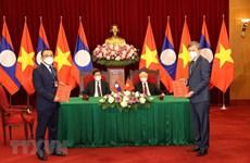 Thương mại Việt Nam-Lào ngày càng thực chất và đi vào chiều sâu