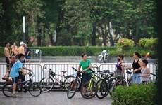 Từ 18 giờ, Hà Nội tạm dừng các hoạt động thể dục, thể thao ngoài trời