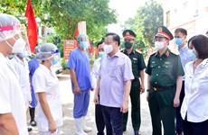 Lãnh đạo Hà Nội: Kiên quyết xử nghiêm vi phạm phòng chống COVID-19