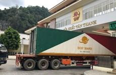 Bộ Công Thương thông tin việc xuất nhập khẩu qua cửa khẩu Tân Thanh