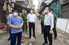 Chủ tịch Hà Nội: Tranh thủ từng giờ để nhanh chóng sàng lọc F0