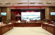 Thường vụ Thành ủy Hà Nội đồng ý tiếp tục thực hiện giãn cách xã hội