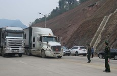 Đề nghị tạo thuận lợi cho thông quan hàng hoá tại Cửa khẩu Lạng Sơn