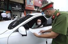 Hà Nội yêu cầu kiểm tra, giám sát chặt chẽ việc cấp giấy đi đường
