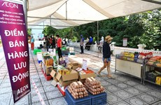 Hà Nội: Nhân rộng điểm bán lưu động giúp người dân mua sắm thuận tiện