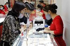 Giá vàng SJC đi lên, dao động quanh 57,75 triệu đồng phiên đầu tuần
