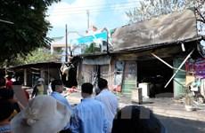 Hà Nội: Cháy lớn giữa đêm, 1 người tử vong và 4 người bị thương