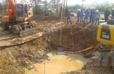 Vỡ đường ống sông Đà lần thứ 10, 70.000 hộ dân bị ảnh hưởng