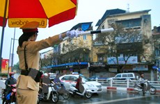 Hà Nội: Thương vong do tai nạn giao thông giảm mạnh trong dịp Tết