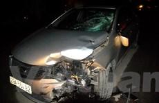 Tài xế Trung Quốc gây tai nạn làm 1 người chết, 1 người nguy kịch