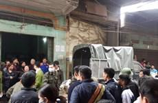 Án mạng trong đêm tại xưởng gỗ ở Thạch Thất, 1 người bị đâm chết