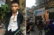 Hà Nội: Cầm dao xông vào nhà dân cướp tiền, bị bắt tại chỗ