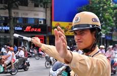 Khoảng 6600 tài xế bị phạt trong 4 ngày Thủ đô Hà Nội giành lại vỉa hè