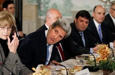 Mỹ thúc đẩy thỏa thuận hòa bình Israel-Palestine