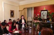 SVUK đóng góp tích cực cho quan hệ hữu nghị Việt-Anh