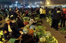 Rau xanh, thực phẩm ở Hà Nội được dự báo khan hiếm