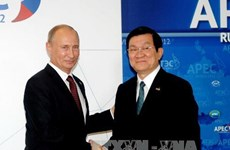 Tổng thống Vladimir Putin viết bài ca ngợi quan hệ Việt-Nga