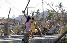 Chiến dịch tiêm vắcxin cho trẻ em Philippines sau bão