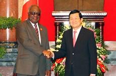 Tổng thống Namibia đánh giá cao thành tích của Việt Nam