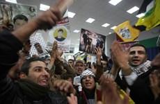 Israel phóng thích 26 tù nhân Palestine vào sáng 31/12