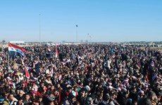 Bị chiếm đồn cảnh sát, Iraq tăng cường quân đến Anbar