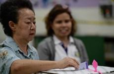 Cuộc bầu cử ở Thái Lan kết thúc trong căng thẳng