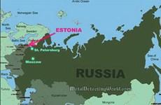Nga và Estonia vừa ký kết một thỏa thuận biên giới