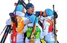 Na Uy soán ngôi đầu bảng của Đức tại Olympic Sochi