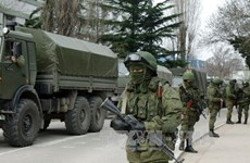 Hình ảnh đồ họa về những diễn biến mới nhất tại Crimea