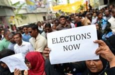 Maldives cách chức và bỏ tù chủ tịch ủy ban bầu cử