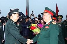 Tăng cường hợp tác giữa lực lượng biên phòng Việt-Trung