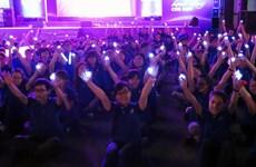 TP.HCM: 5.000 người hưởng ứng chiến dịch Giờ Trái đất