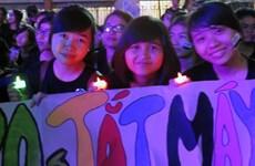 Giờ Trái đất 2014: Việt Nam tiết kiệm được 430.000 kWh