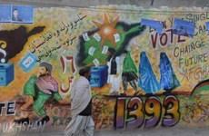 Bầu cử Tổng thống Afghanistan diễn ra bất chấp bạo lực