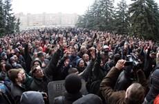 Ukraine đề xuất ân xá cho người biểu tình ủng hộ Nga