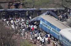 Đã có 19 người chết trong vụ tai nạn tàu hỏa tại Ấn Độ