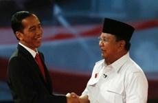 Hai ứng viên tổng thống Indonesia tranh luận trực tiếp