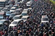 Jakarta đối mặt thách thức giao thông thiếu hiệu quả