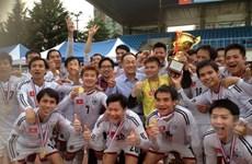 Sôi động giải bóng đá sinh viên Việt Nam tại Hàn Quốc