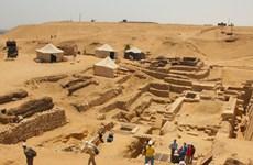 Ai Cập phát hiện thành phố hơn 2.000 năm dưới đáy sông Nile