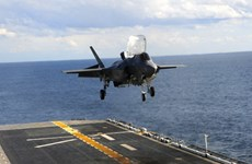 Bộ trưởng Quốc phòng Mỹ vẫn đặt niềm tin vào máy bay F-35
