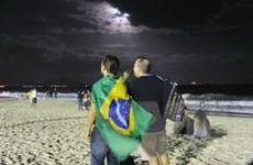 [Photo] Nỗi buồn của cổ động viên Brazil sau thất bại ê chề