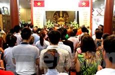 Người Việt ở Lào tổ chức lễ cầu nguyện hướng về biển đảo