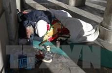 Nước Pháp đối mặt với tình trạng người vô gia cư tăng mạnh