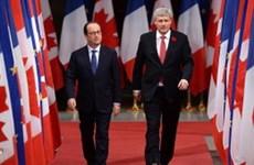 Canada và Pháp thành lập Hội đồng hợp tác quốc phòng