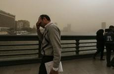 Các trận bão cát lớn tiếp tục hoành hành khắp Trung Đông