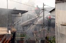 Thành phố Hồ Chí Minh: Cháy lớn trong phòng trọ, 2 người tử vong