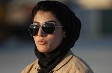 [Photo] Ngắm nhan sắc nữ phi công duy nhất của quân đội Afghanistan