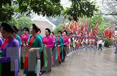 Giỗ Tổ Hùng Vương-Lễ hội Đền Hùng diễn ra trong 6 ngày