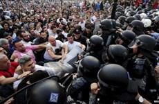 Macedonia: Hàng nghìn người biểu tình vì vụ cảnh sát đánh chết dân